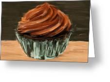 Chocolate Cupcake Greeting Card