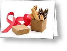 Chocolate Gift Greeting Card