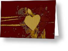 Chocolate-heart Greeting Card by Dorothy Rafferty