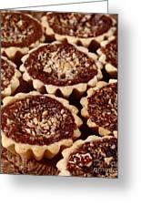 Chocolate Pecan Tarteletts Greeting Card