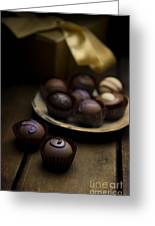 Chocolate Pralines Greeting Card