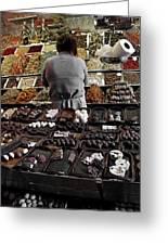 Chocolate Shop Greeting Card