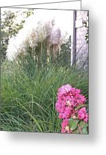 Choctaw Flowers Greeting Card