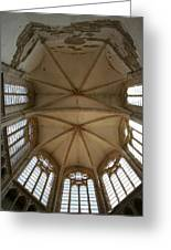 Choir Vault St Thibault Greeting Card
