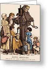 Cholera-infected Pump, 1854 Greeting Card