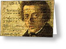 Frederic Chopin Greeting Card