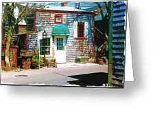 Chowder House Rockport Ma Greeting Card