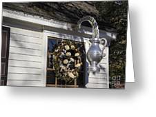 Chownings Tavern Wreath Greeting Card