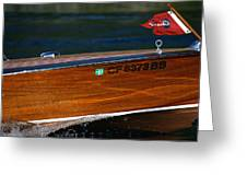 Chris Craft Raceabout Greeting Card
