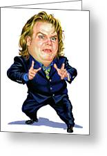 Chris Farley Greeting Card