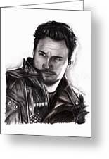 Chris Pratt 2 Greeting Card