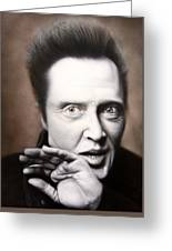 Chris Walken Greeting Card