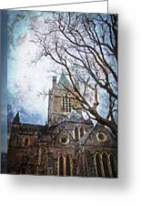 Christ Church Cathedral Dublin Greeting Card