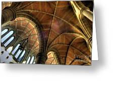 Christ Church Cathedral Roof Detail Greeting Card