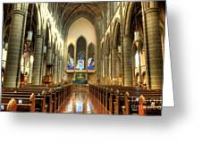 Christ Church Cathedral Victoria British Columbia Greeting Card