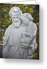 Christ With Child Greeting Card