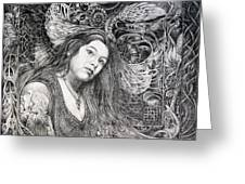 Christan Portrait Greeting Card