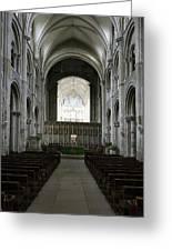 Christchurch Priory Greeting Card