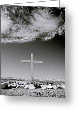 Christian Grave Greeting Card