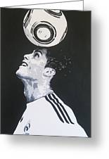 Christiano Ronaldo - Real Madrid Fc Greeting Card