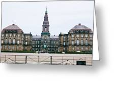 Christiansborg Slot Greeting Card