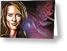 Christina Greeting Card