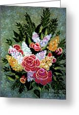 Christina's Bouquet Greeting Card