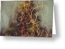 Christmas Abstract Vi Greeting Card