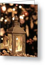 Christmas And New Year Decoration Greeting Card