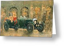 Christmas At Fortnum And Masons Greeting Card