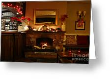 Christmas At The Pub Greeting Card