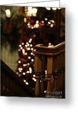 Christmas Banister 1 Greeting Card