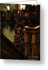 Christmas Banister 2 Greeting Card