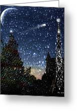 Christmas Baroque Greeting Card