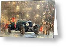 Christmas Bentley Greeting Card
