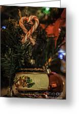 Christmas Bokeh 3 Greeting Card