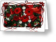 Christmas Bouquet  Greeting Card
