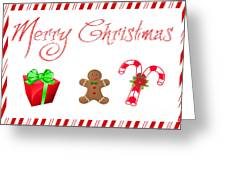 Christmas Card 25 Greeting Card