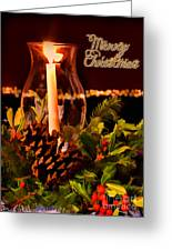 Christmas Card Digital Paint Greeting Card