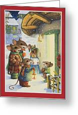 Christmas Carols Greeting Card