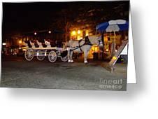 Christmas Carriage Greeting Card