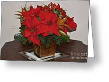 Christmas Centerpiece Greeting Card