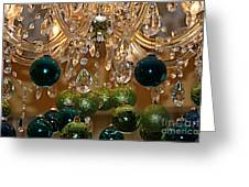 Christmas Chandelier Greeting Card