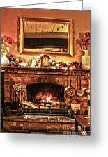 Christmas Cosy Corner Greeting Card