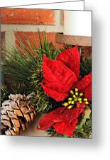 Christmas Decor Close Greeting Card by Kenneth Sponsler