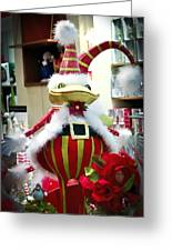 Christmas Decor Greeting Card by Jon Berghoff