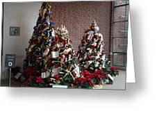Christmas Display - Mt Vernon - 01131 Greeting Card by DC Photographer