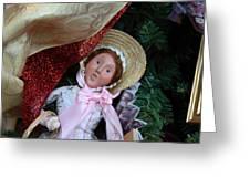 Christmas Display - Mt Vernon - 01133 Greeting Card