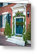 Christmas Door 6 Greeting Card