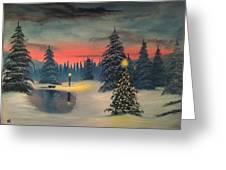 Christmas Eve Greeting Card